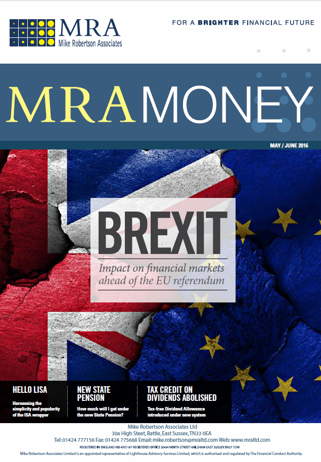 Brexit - Impact on financial markets ahead of the EU referendum